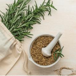 Plantas medicinales deshidratadas